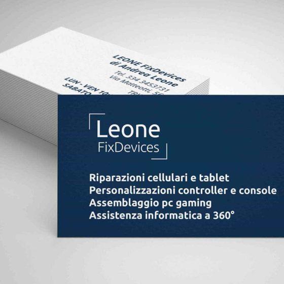 Biglietti da visita Leone Trieste