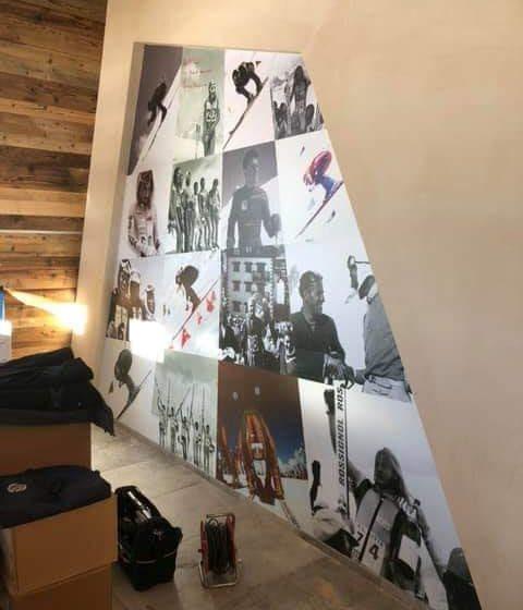 decorazione murale personalizzata Rocce Nere